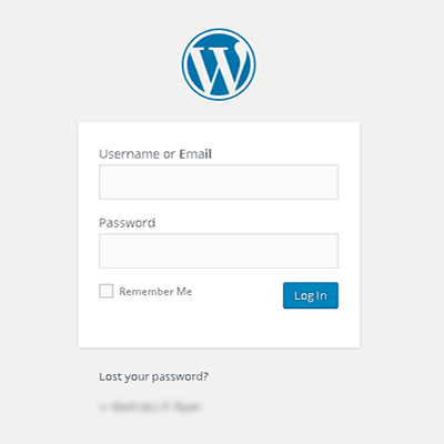 How to login to Wordpress website